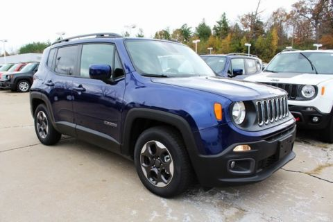 New 2016 Jeep Renegade Latitude FWD 4D Sport Utility